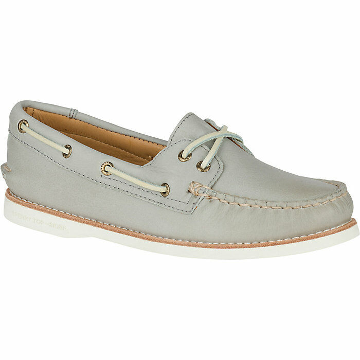 160 NEW Womens 11 Sperry gold Cup A O Light Grey STS95562