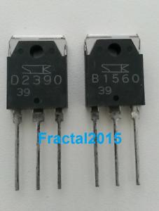 Transistor 2sb1560 /& 2sd2390 TO-3P 1paire 2sb1560et2sd2390