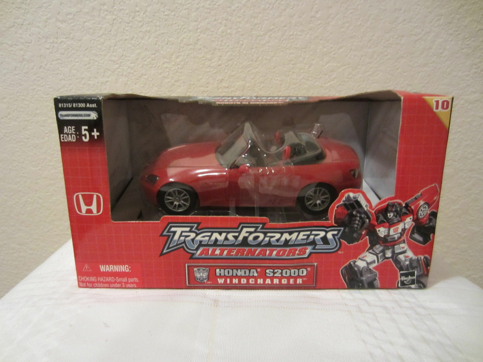 Transformers RID Alternators Honda S2000 Windcharger Vehicle to Robot 2004 New