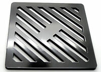 """11"""" Square Metal steel Gully Grate Grid Heavy Duty Drain Cover like cast iron"""