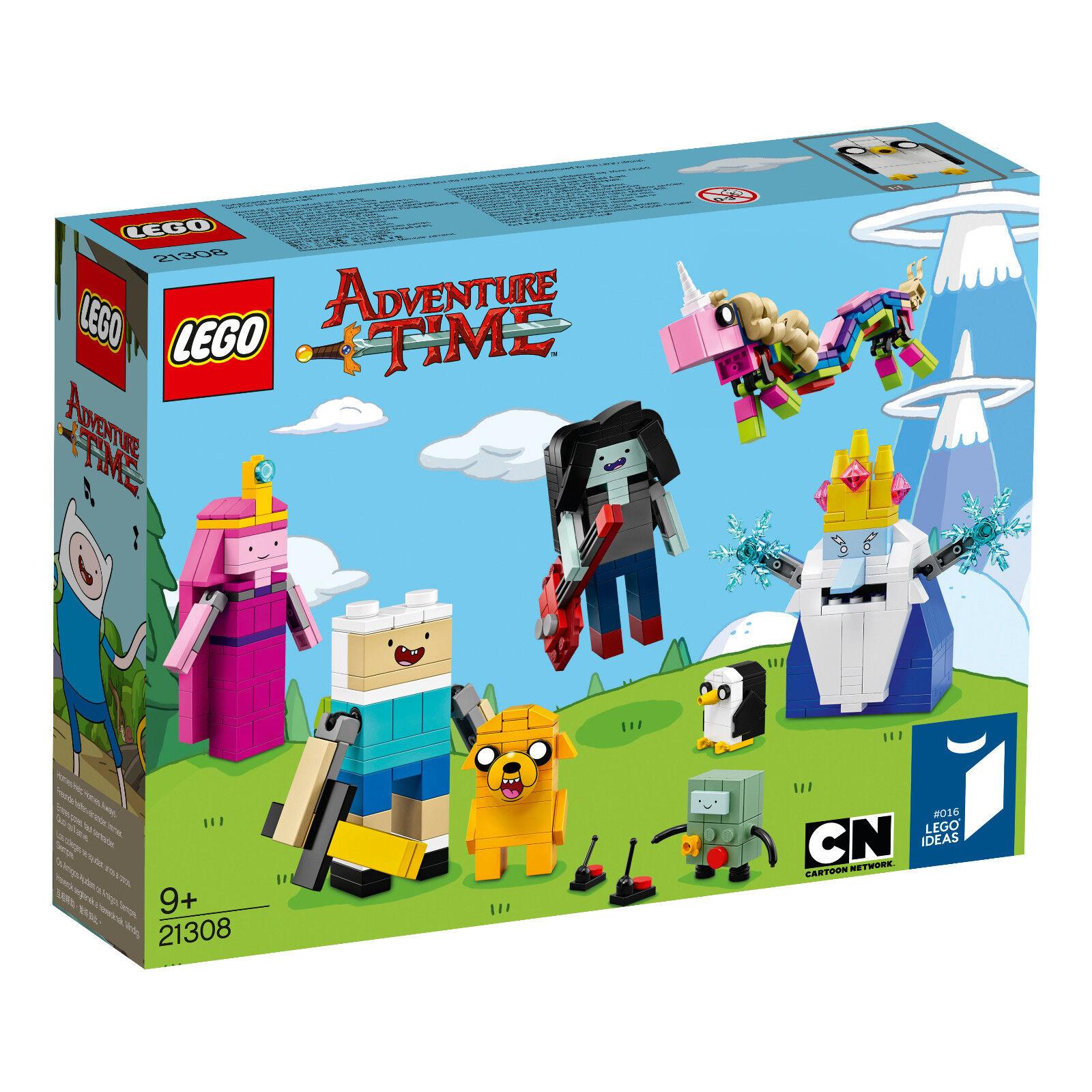 Lego Lego Lego Ideas 21308 Adventure Time New - Sealed a0e3f3