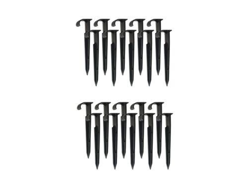 20x Erdspiess Steckgabel Zubehör Tropfschlauch Perlschlauch Rohr Perlrohr