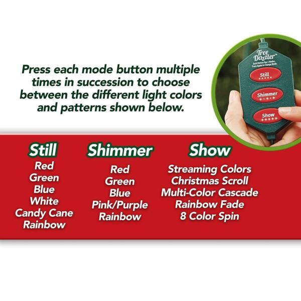 Tree Dazzler As Seen On TV/Shark Tank Christmas LED Lights for sale online   eBay