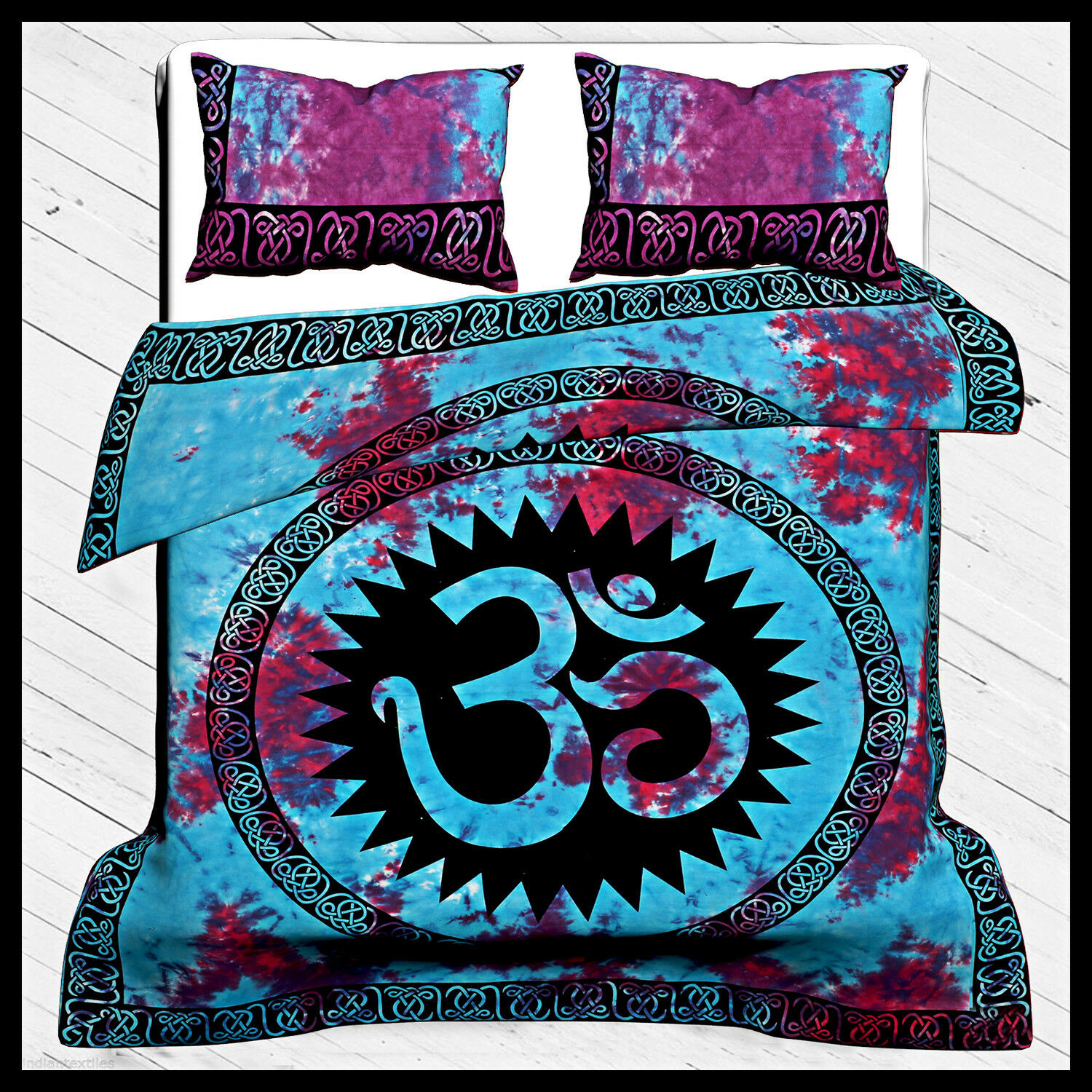 Tie & Dye Mandala Duvet Cover Tapestry Throw Bedspread women Cover