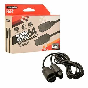Retro-Bit-6-Feet-Extension-Cable-For-Nintendo-64-System