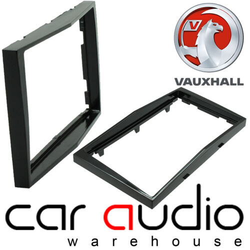 CT24VX18 Vauxhall Astra H 2005 On Car Stereo Double Din Fascia Facia Piano Black
