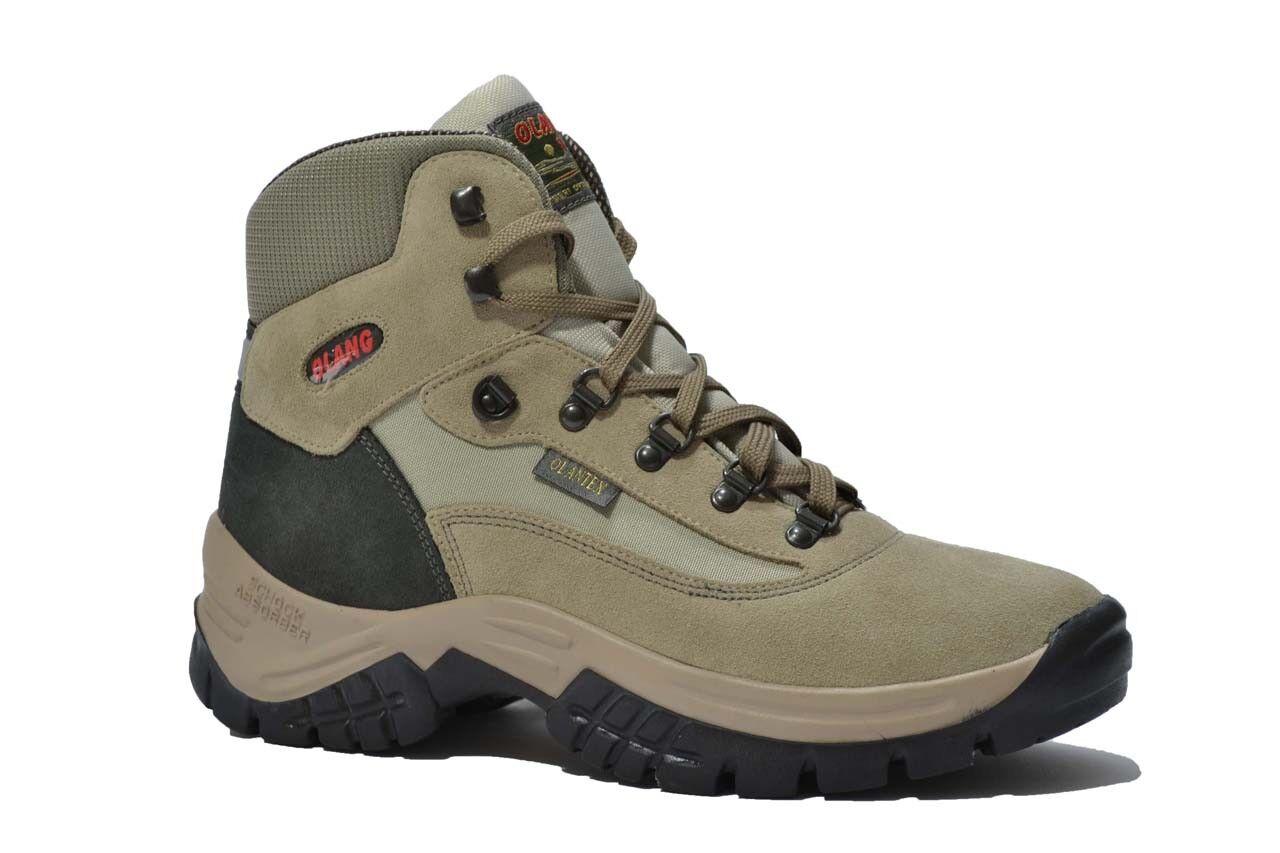 OLANG  Trekking scarpe uomo argilla  OLANG pesca montagna mod. CORTINA bd6039