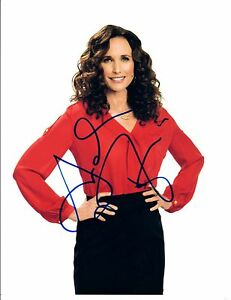 Andie-Macdowell-Signed-Autographed-8x10-Photo-Beautiful-Actress-COA-VD