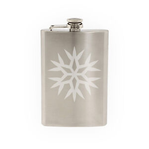 Snowflake-Pattern-7-Winter-Art-Christmas-Decoration-8-oz-etched-flask