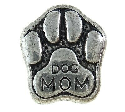Dog Mom European Charm Bead Puppy Paw Family Pet Memory Fur Baby