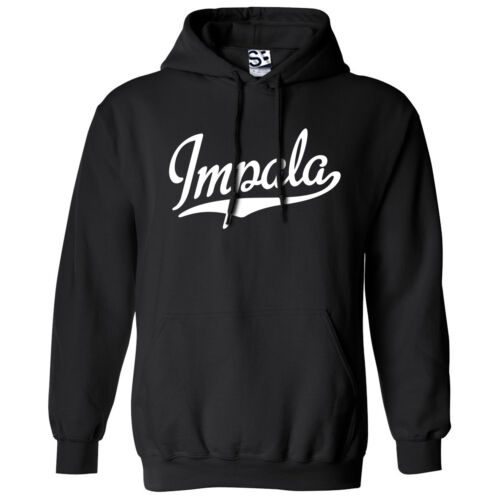 All Colors Impala Script /& Tail HOODIE Hooded 63 64 65 Lowrider Sweatshirt