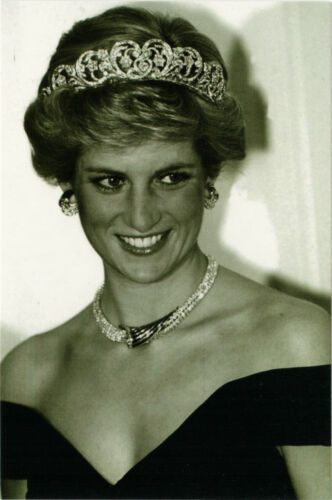 Princess of Wales Lady Di Real Photo Modern Postcard Diana