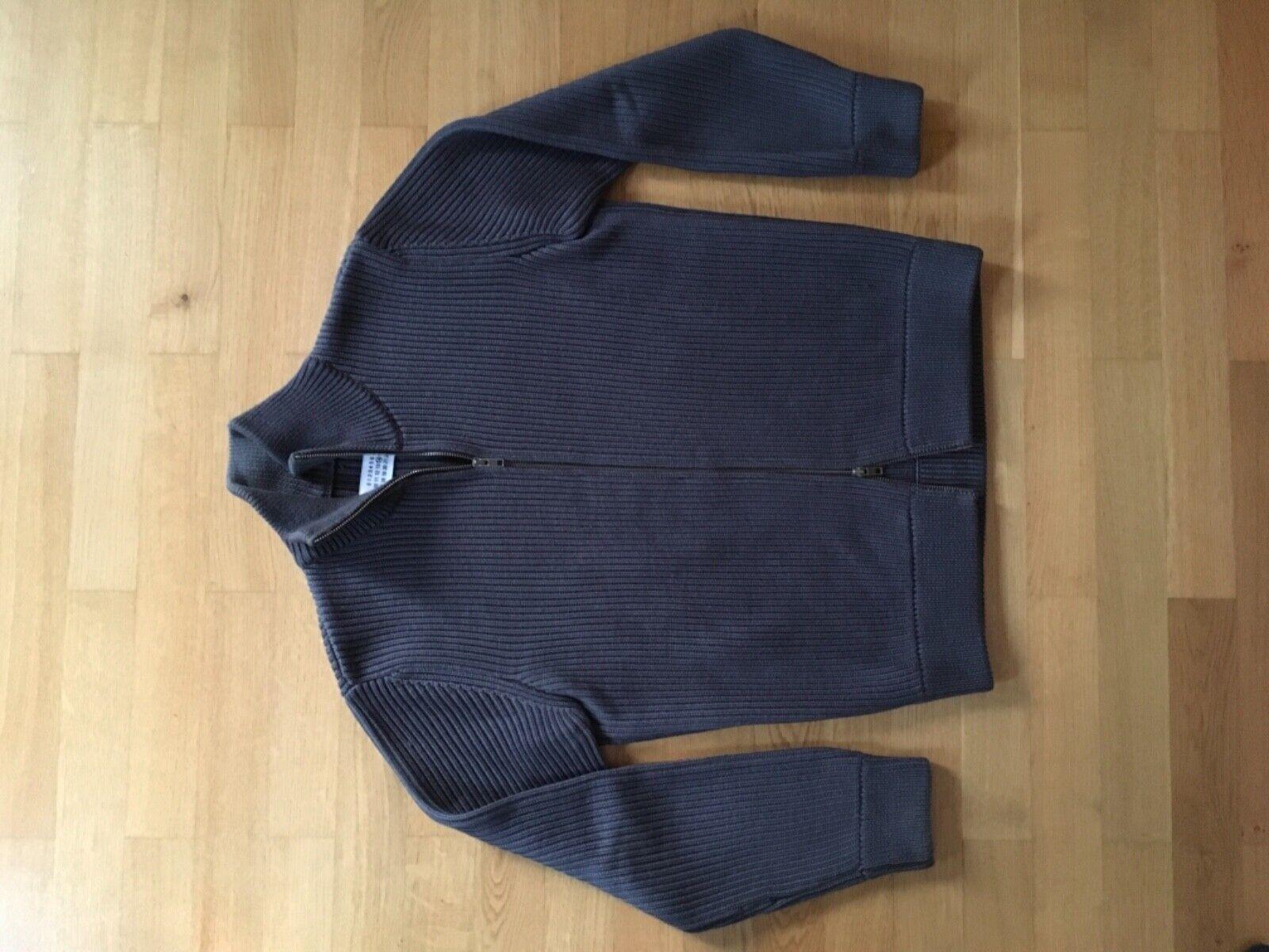 Maison Margiela Herren Strickjacke Farbe Grau Gr L sehr gepflegt