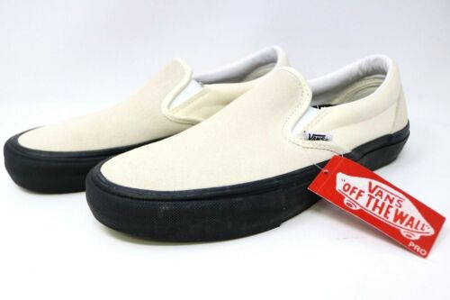 Vans Classic Vn00097mu20 Class Slip 7 Men's on 5 Suede 190849949933 Nero Class Bianco Canvas rraA6