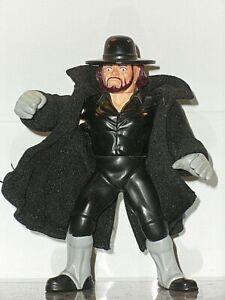 WWF WWE Hasbro custom Undertaker cloak. coat wwf hasbro accessory
