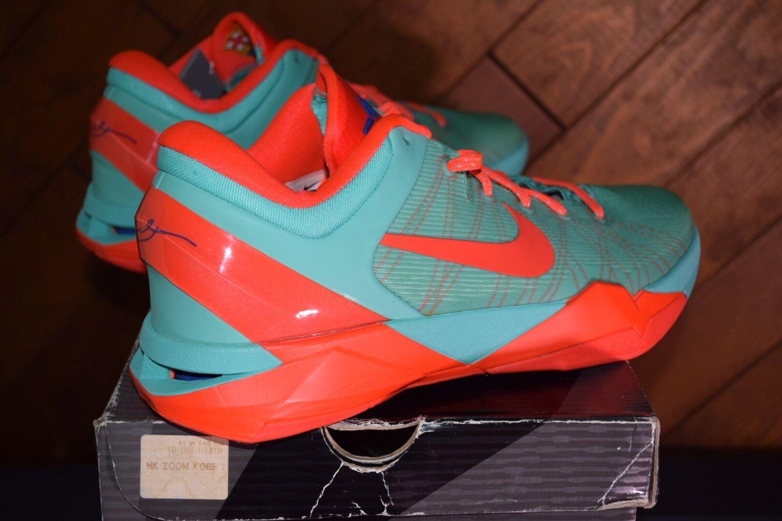 2012 Nike Zoom Zoom Zoom Kobe Bryant 7 VII Barcelona Teal, Size 12 850a16