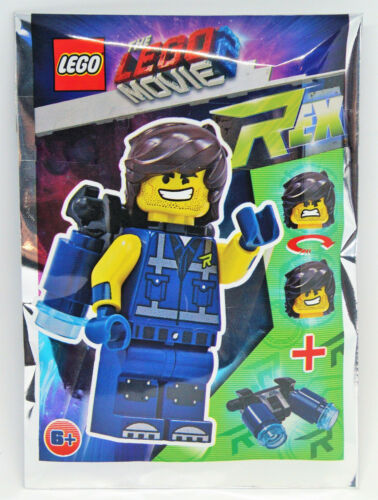 New Sealed Lego 471906 The Lego Movie 2 Minifigur Minifig Rex Neu
