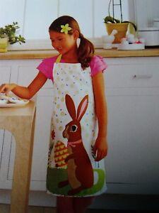45cdc4e392550 NEW Kids EASTER BUNNY RABBIT Apron Artist Smock TARGET Bunnies Child ...