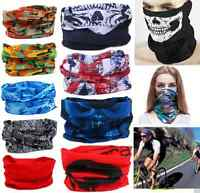 Hot Multi Use Scarf Snood Neck Head Wear Bandanas Tube Mask Snood Cap Warmer New