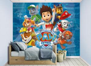 Image is loading Paw-Patrol-Walltastic-Wallpaper-Mural-for-Kids-Bedrooms