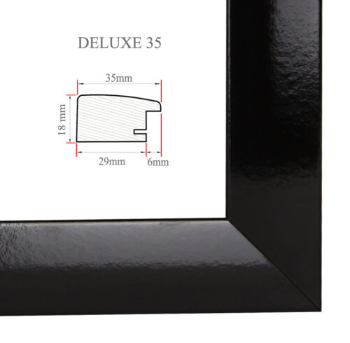 Deluxe 35 cadre photo 48x24 CM ou 24x48 cm photo//GALERIE//poster cadre