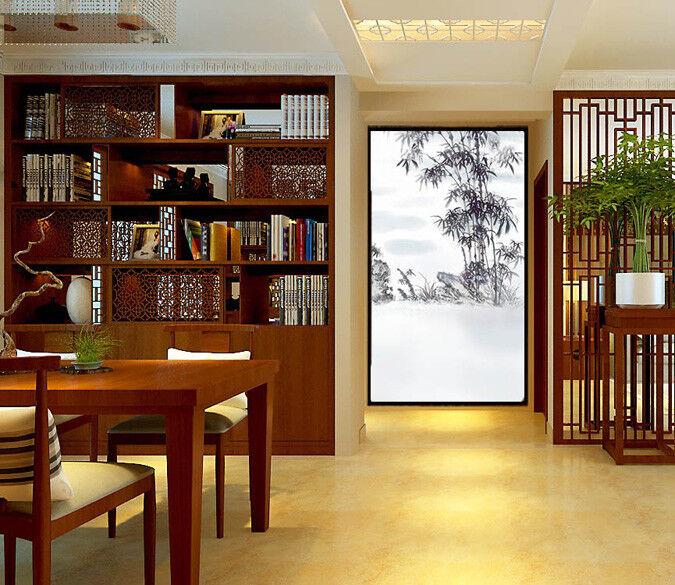 3D Bambusmalerei 67 Tapete Tapeten Mauer Foto Familie Tapete Wandgemälde DE