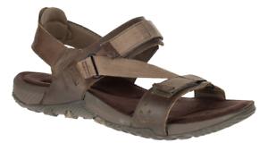 9e15bd8a0124 Merrell Terrant Strap Dark Earth Comfort Sandal Men s sizes 7-15 NIB ...