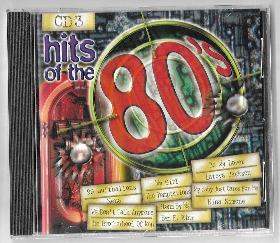 diverse kunstner: Hits of the 80`s, pop