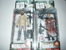McFarlane The Walking Dead AMC TV Series 8 Carol Gamestop Exclusive and morgan