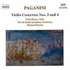 Niccolo Paganini - Paganini: Violin Concertos Nos. 3 & 4 (2000)