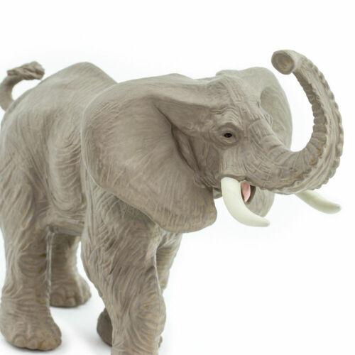 SAFARI LTD AFRICAN ELEPHAN #238429 WILD SAFARI WILDLIFE COLLECTION BRAND NEW