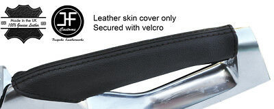BLUE REAL LEATHER PASSENGER GRAB HANDLE COVER FITS PEUGEOT 3008 2008-2016