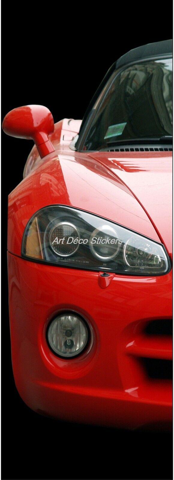 Cartel Póster de Puerta Decoración Trampantojo Ferrari Ref 600 (4 Tallas)
