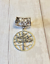 silver scarf bail Silver Tree of Life Scarf Bail sc scarf ring scarf pendant