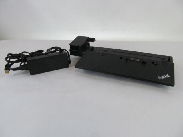 Lenovo 40A1 Pro Docking Station w/ 90W OEM AC Adapter 3xUSB 2.0 3xUSB 3.0 1xVGA