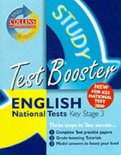 Collins Study and Revision Guides - KS3 English Test Booster (C .9780003235432