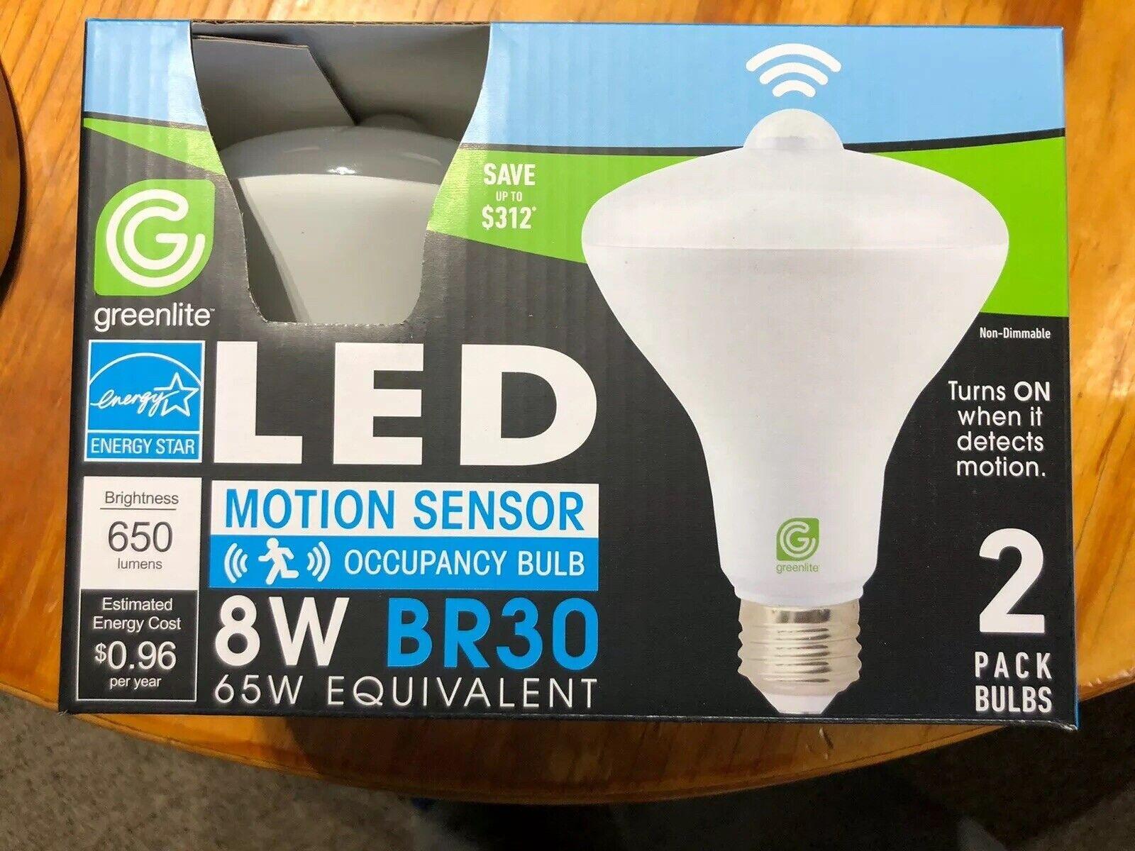 2 Pack Indoor Outdoor Motion Sensor Flood Led Light Bulb 65 Watt For Sale Online