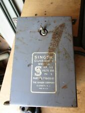 Vintage Singer Clutch Motor Switch 12 Hp 250v 3ph