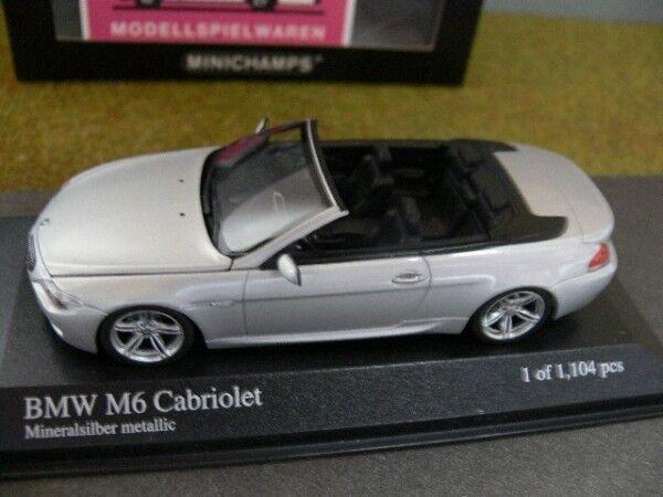 1 43 MINICHAMPS BMW m6 Cabriolet 2006 431026130