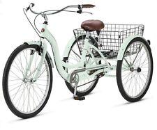 "3 Wheel Bike Adult Tricycle Beach Cruiser Trike Speed Bicycle Schwinn 26"" Retro"