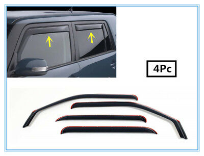For Scion XB Smoke Acrylic Door Window Deflector Rain Guard Sun Shade Visor 4-Pc