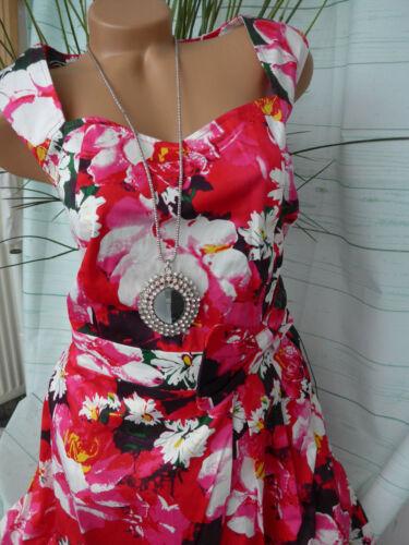 870 NEU 42 bis 52 Rot Joe Browns Kleid Damen Cocktailkleid Gr