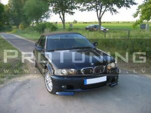 Details About Bmw E46 98 05 M Pack Front Spoiler Clubsport Splitter Sport Tech Mpack Club Set