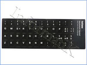 Adesivi-Etichette-Italiano-Layout-Tastiera-Stickers-per-Trust-Razer-Corsair