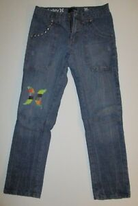 Hurley Jeans Girls Youth Hurley Jeans Size 14 29