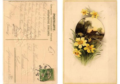 CPA Am Blumenhang Meissner & Buch Litho Serie 1372 (730609)