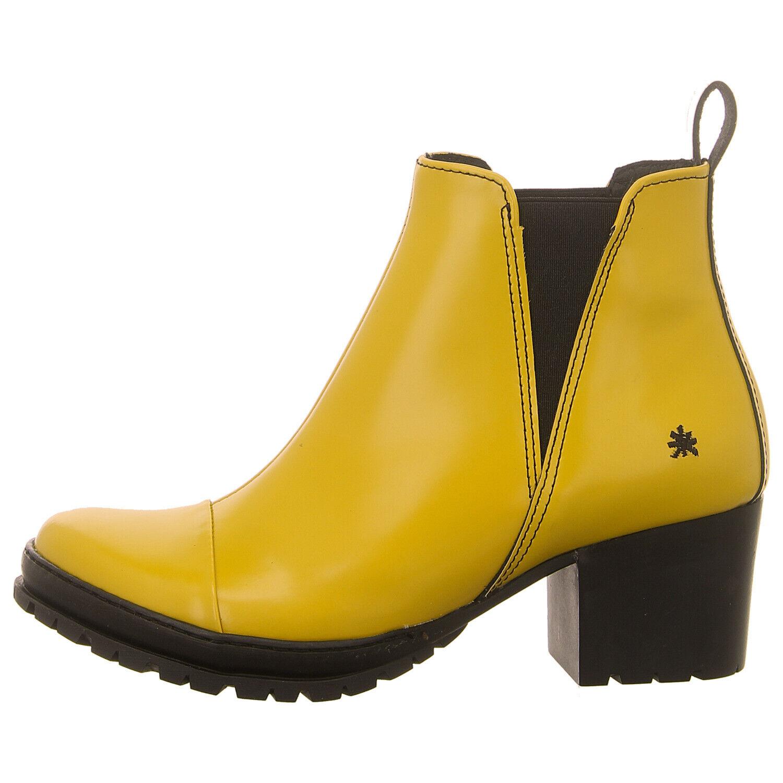 Gelb 1233 CAMDEN Stiefelette Schuhe ART (gelb) NEU