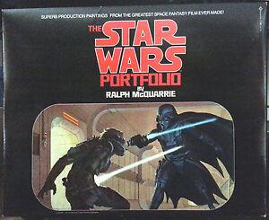 STAR WARS PORTFOLIO McQuarrie First Edition 1.Auflage September 1977
