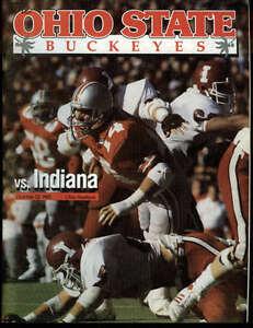 College Football The Ohio State University Program 1985 ...