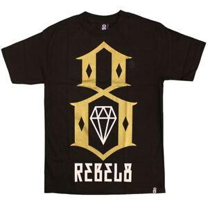 Rebel8 Logo T-shirt Black